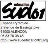 le site de SUD éducation de l'Orne