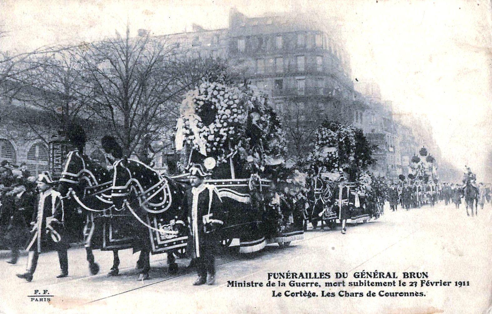 Le char funèbre français, dit corbillard