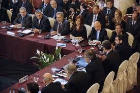 A Montévidéo, les pays d'Amérique latine protègent leur marché commun.