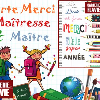idée carte merci #Maîtresse & #Maître :)