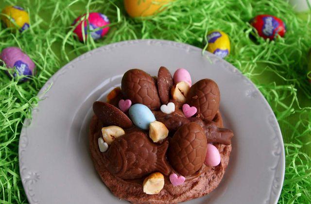 Pavlovas de Pâques au chocolat