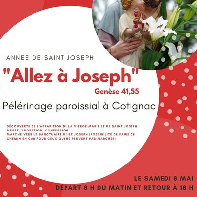 PÈLERINAGE PAROISSIAL À COTIGNAC