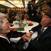 Family reunions lay bare the emotion of 65 years of division