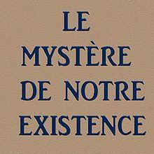 L'ENFER SELON LE SPIRITISME, Felix Remo – « Le mystère de notre existence. »
