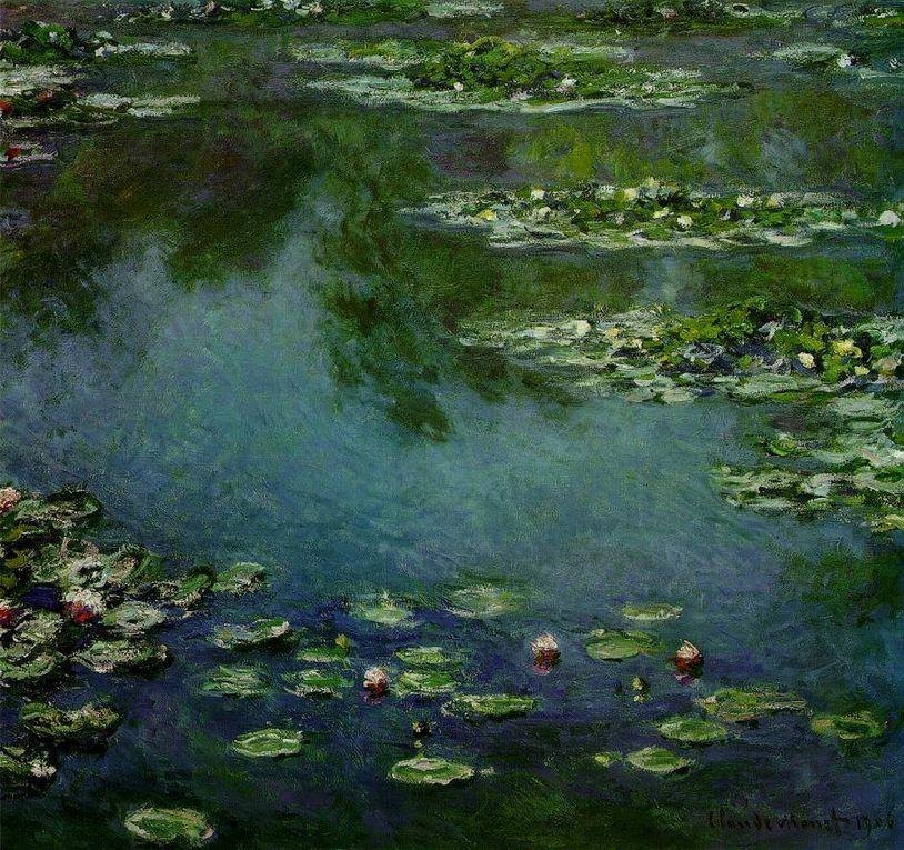 Claude Monet est considéré comme le chef de file de l'impressionnisme.