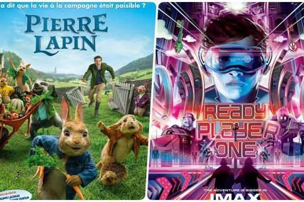 BOX-OFFICE 04-10 AVRIL : PIERRE LAPIN ET READY PLAYER ONE AU COUDE-À-COUDE