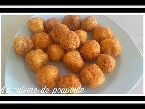 Croquettes de pomme de terre au comté au thermomix ou sans