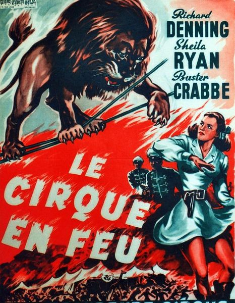 Le cirque en feu (Caged fury)