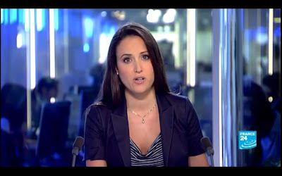 [2012 09 17] JESSICA LE MASURIER - FRANCE 24 en - THE NEWS @17H00