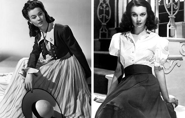 Las mejores reglas de un look de Vivien Leigh