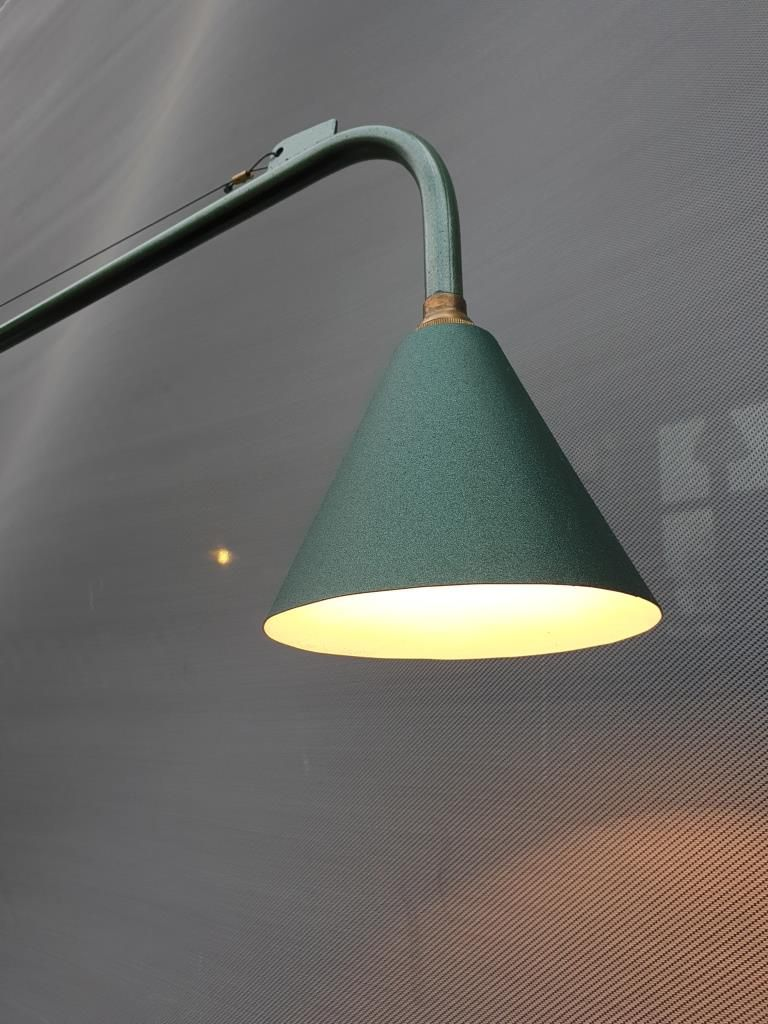 LAMPE MURALE APPLIQUE MINIMALISTE POTENCE JIB175 VERTE - 310 euros