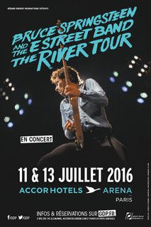 Bruce Springsteen & the E Street Band, Accor Hotel Arena, 11/07/2016