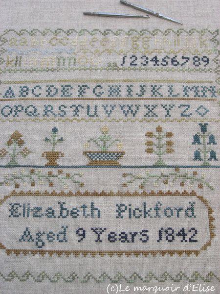Elizabeth Pickford, 1842
