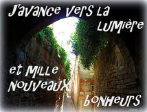 Un mantra pour ceux qui sont dans un tunnel, une impasse...