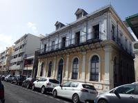 A Pointe à Pitre - Immeubles et musée Saint John Perse