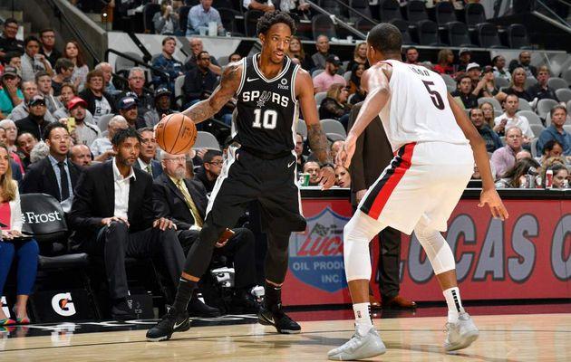 Les Spurs signent une troisième victoire d'affilée en battant les Blazers