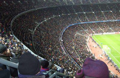 La fète au Camp Nou !