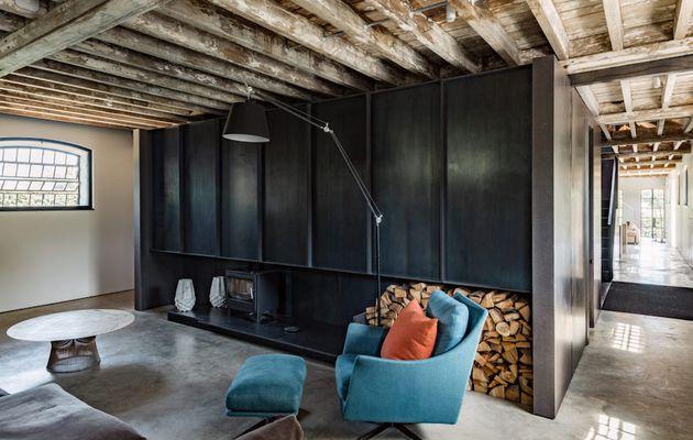 Une spacieuse maison contemporaine dans une ancienne laiterie