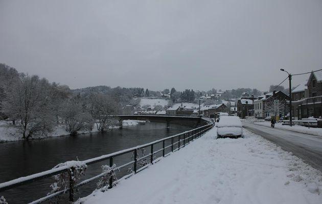 Situation hivernale à Comblain-au-Pont