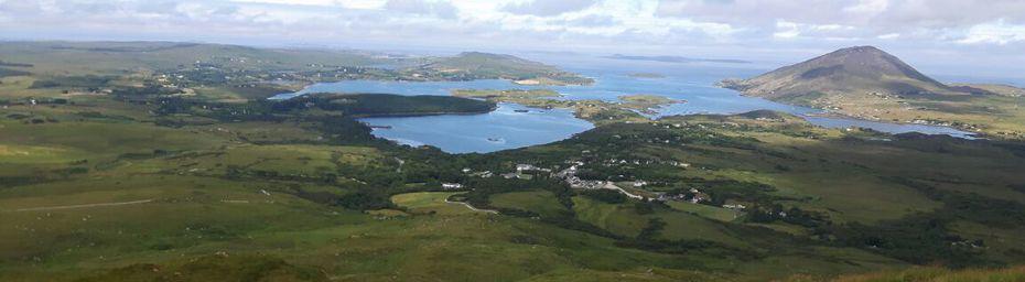 Paysages d'Irlande.