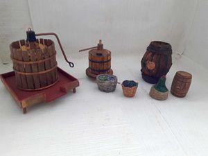 Santons à vendre : décors