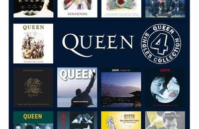 QUEEN SINGLES COLLECTION VOL 4 DISPONIBLE SUR AMAZON!
