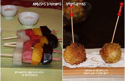 Amuses bouches végétariens