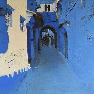 Le peintre catalan Magi Puig célèbre les couleurs du Maroc