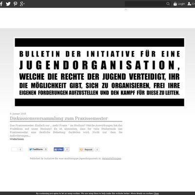 Blog der Initiative für eine unabhängige Jugendorganisation