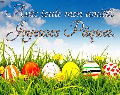 Un bon week-end de Pâques à vous tous & toutes prenez soin de vous....