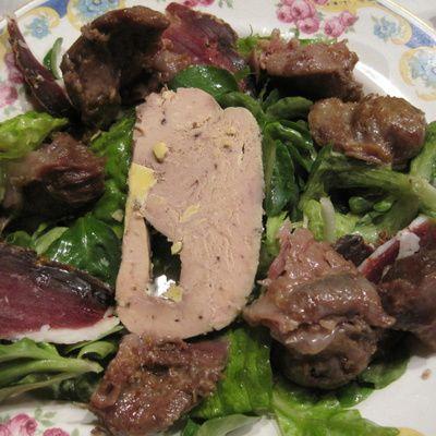 Comment préparer une salade du Périgord? (Ingrédients, préparation)