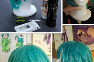 Astuces cosplay n°5 : styliser une perruque