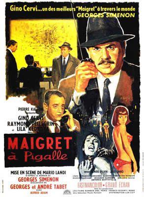 Le Commissaire Maigret à Pigalle de Mario Landi