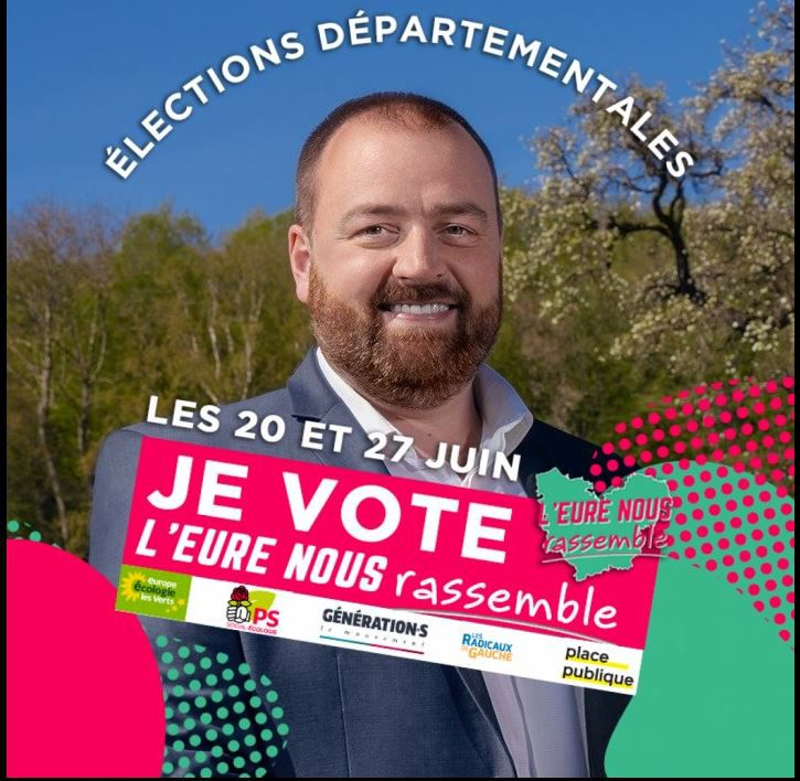 ÉLECTIONS DÉPARTEMENTALES 4ème CIRCONSCRIPTION DE L'EURE