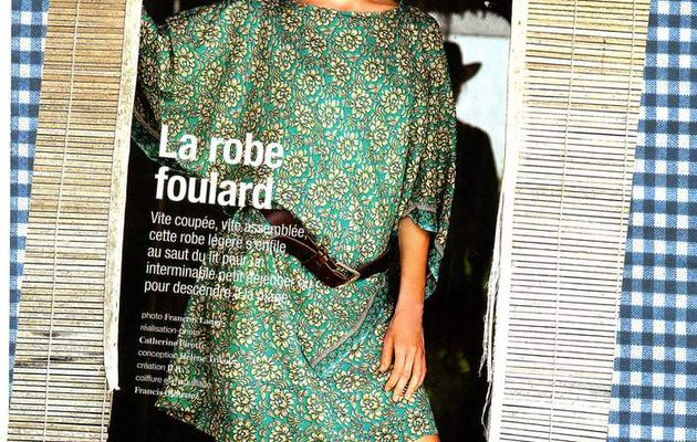 """patron n°28 : """"la robe foulard""""."""