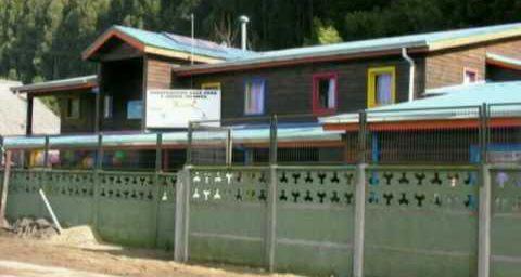Chili - 2007: CEPAS, l' AFAENAC - Jardin d'enfants Lucerito àTomé (Réalisation Mario Cabrera).
