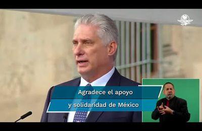 Miguel Díaz-Canel, le président de Cuba accuse une campagne de haine et de désinformation envers son pays