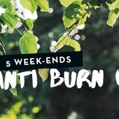 5 week-ends anti burn-out