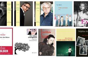 Les nominés du Prix Renaudot 2015
