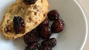 Madeleines bananes & cranberries sans gluten