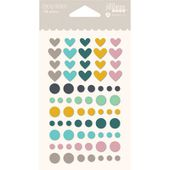 JB2336 : EPOXY STICKERS SPOONFUL OF SOUL FEE DU SCRAP