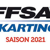 Evolution du calendrier FFSA Karting 2021