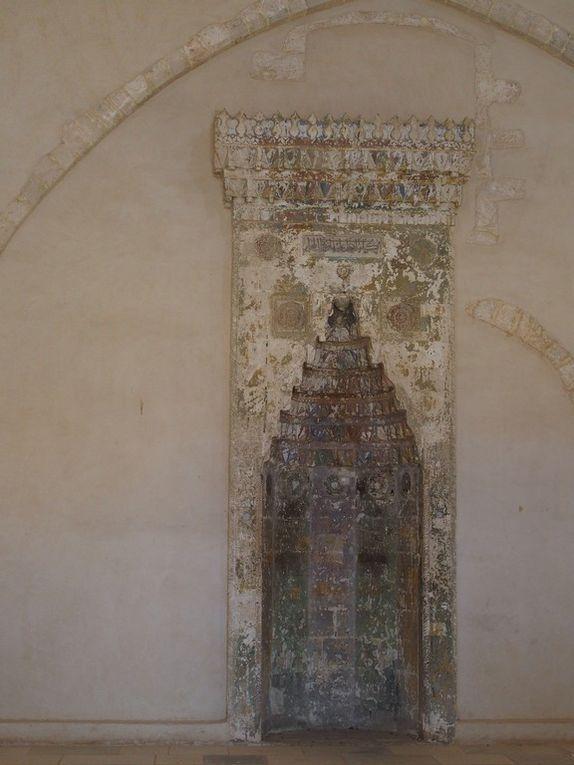 à l'intérieur de la forteresse .... la mosquée du Sultan Ibrahim Han ....