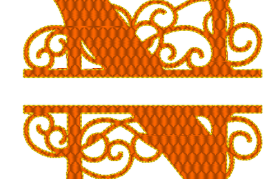 ABC ferronnerie d' art: la lettre N