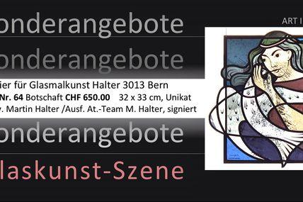 Sonderangebote zum Kauf von Glasmalerei aus dem Atelier Martin Halter Bern