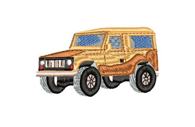 BRODERIE JEEP