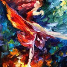 Flame Dance (by Leonid Afremov)