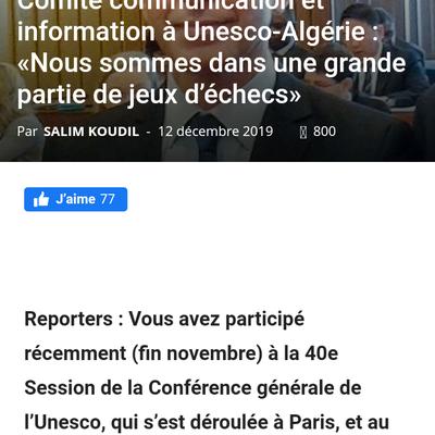 Ahmed Benzelikha Expert en Digital Entretien à Reporters