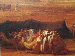 Table de seigneurs gourmets - Dans l'immensité du désert, la longue route de Taor...