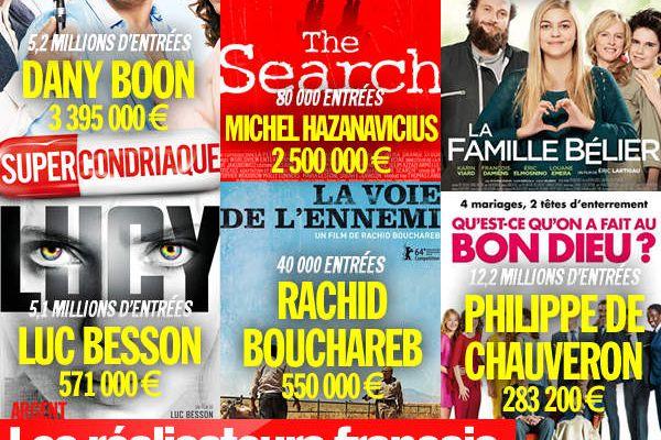 Les réalisateurs français les mieux payés en 2014 ! #Argent